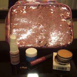 Gorgeous Sequin  Bag & 4 piece set